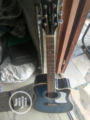 Randy Jarkon Semi-Acoustic Box Guitar   Musical Instruments & Gear for sale in Lagos State, Ikeja