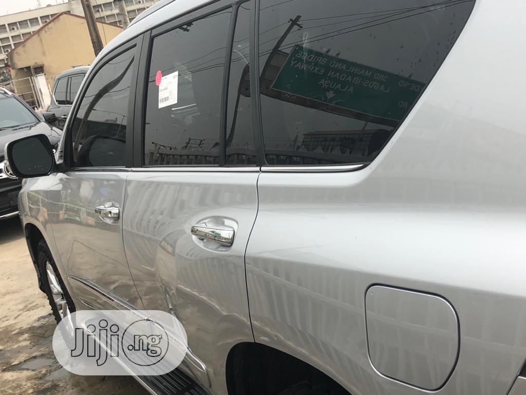 Lexus GX 2015 460 Luxury Silver | Cars for sale in Ikeja, Lagos State, Nigeria