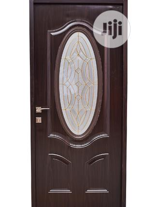 Steel Wooden Door With Glass | Doors for sale in Delta State, Warri