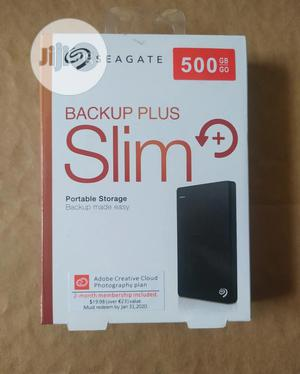 Seagate 500gb Backup Plus, Slim | Computer Hardware for sale in Lagos State, Ikeja