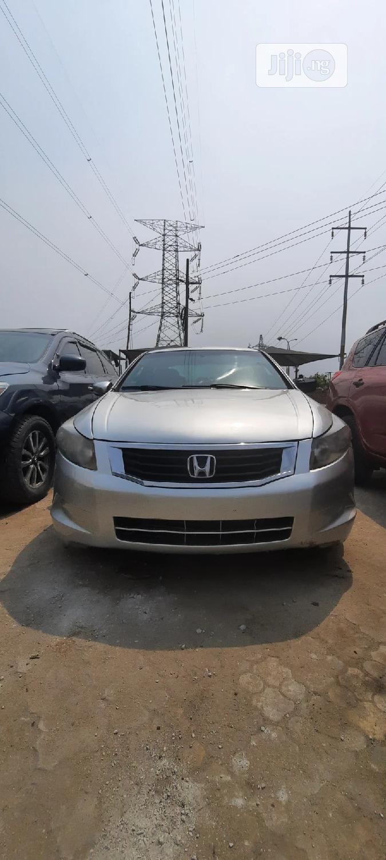 Archive: Honda Accord 2008 Silver