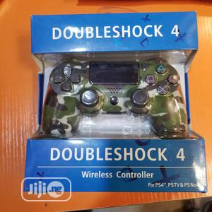 Ps 4 Wireless Controller for Playstation 4 - Green Camo   Video Game Consoles for sale in Lagos State, Ikeja