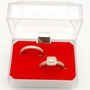 2 Set Zirconia Engagement Rings   Wedding Wear & Accessories for sale in Enugu State, Enugu