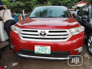 Toyota Highlander 2008 Limited 4x4 Red | Cars for sale in Lagos State, Amuwo-Odofin