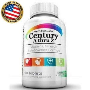 Multivitaminico Century A-Z - Earth S Creation USA | Vitamins & Supplements for sale in Lagos State, Ojo