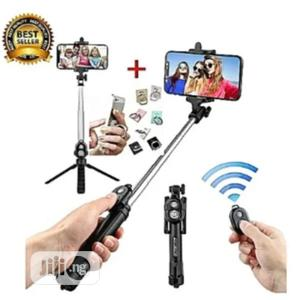 Selfie Stick Tripod Phone Holder   Accessories for Mobile Phones & Tablets for sale in Lagos State, Ikeja