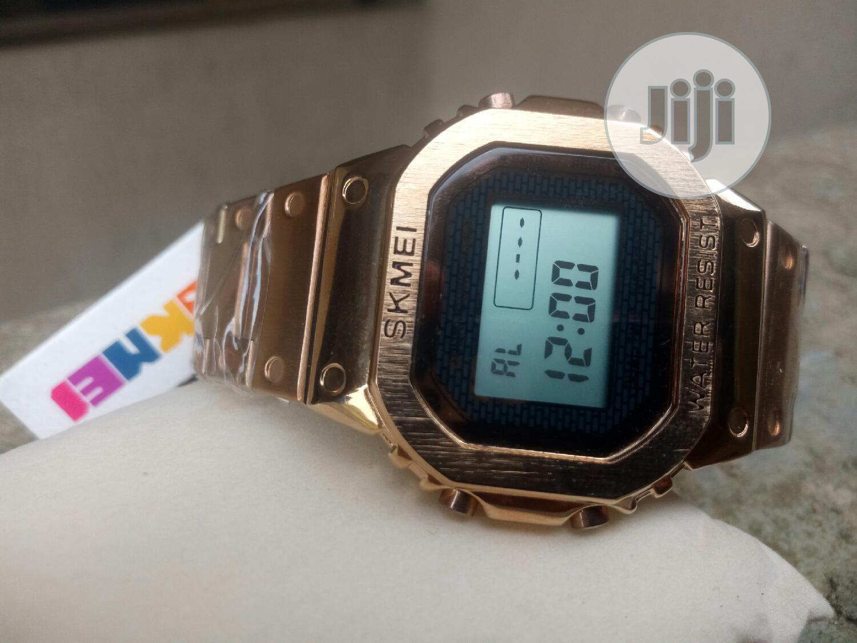 Archive: Skmei Stainless Steel Water Resistant Digital Watch