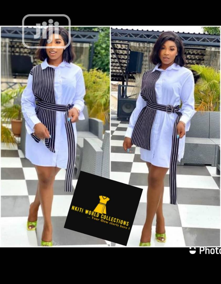Trendy Ladies Quality Designed Shirt Dress   Clothing for sale in Ikeja, Lagos State, Nigeria