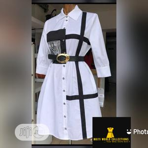 Trendy Ladies Quality Designed Shirt Dress | Clothing for sale in Lagos State, Ikeja