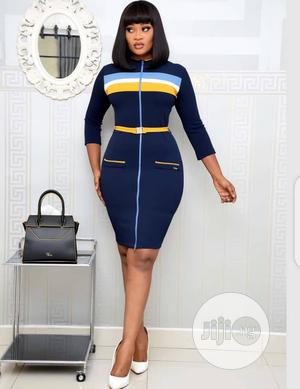 New Ladies Quality Turkey Fitted Gown | Clothing for sale in Lagos State, Ikeja