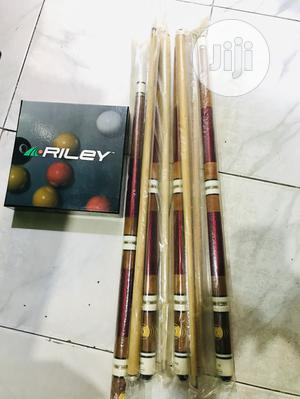 Snooker Sticks(Two Piece) and Balls | Sports Equipment for sale in Lagos State, Surulere