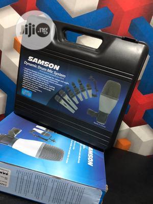 Samson 7set Drum Microphone | Audio & Music Equipment for sale in Lagos State, Ojo