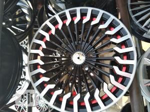 Quality Size 17 18 Alloy Rims   Vehicle Parts & Accessories for sale in Lagos State, Mushin