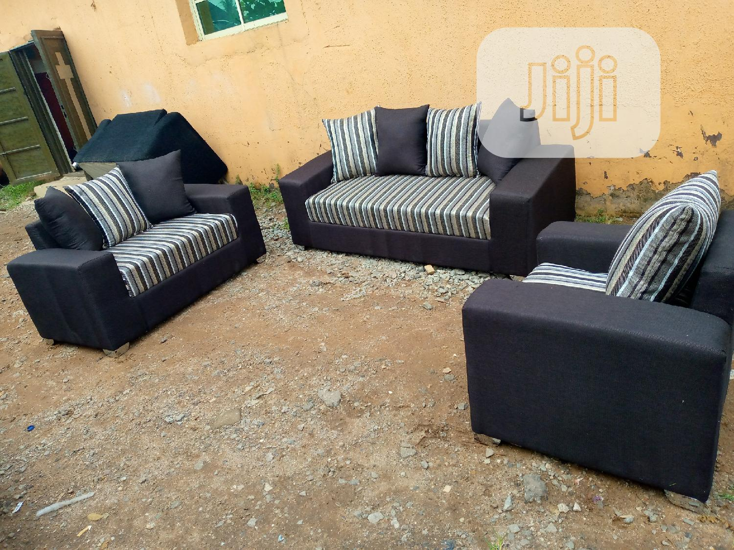 Archive: 6 Seaters Sofa Chairs With Pillows. Fabric Couches