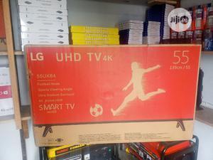 55 Inch LG Smart 4K UHD LED TV + Youtube, Netflix, Internet   TV & DVD Equipment for sale in Lagos State, Ojo