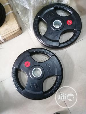 Olympic Barbell Plate | Sports Equipment for sale in Abuja (FCT) State, Jabi