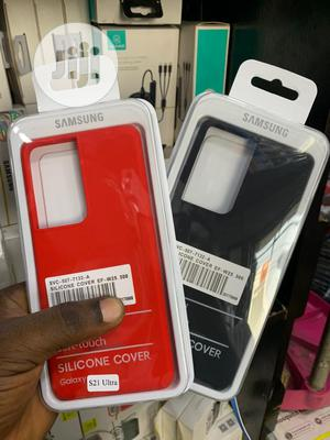 Samsung Official Silicone Case for Galaxy S21 ULTRA | Accessories for Mobile Phones & Tablets for sale in Lagos State, Alimosho