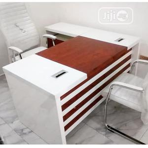 High Quality White Executive Office Table | Furniture for sale in Lagos State, Ojo
