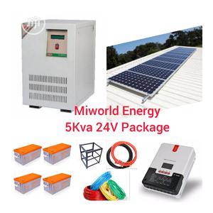 5kva 24v Inverter Solar Package System.   Solar Energy for sale in Lagos State, Lekki