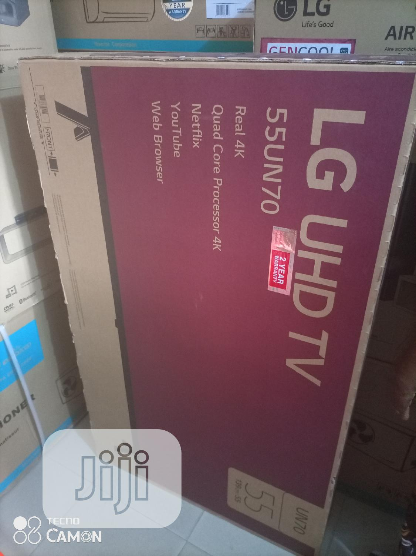 Lg Smart UHD Tv 55 Inches
