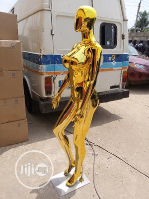 Quality Big Breast Female Gold Mannequin | Store Equipment for sale in Lagos State, Lagos Island (Eko)