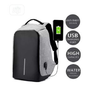 Anti Theft Security Travel Backpack Laptop Bag- Gray | Computer Accessories  for sale in Lagos State, Amuwo-Odofin