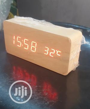 Wooden Digital Clock | Home Accessories for sale in Lagos State, Lagos Island (Eko)