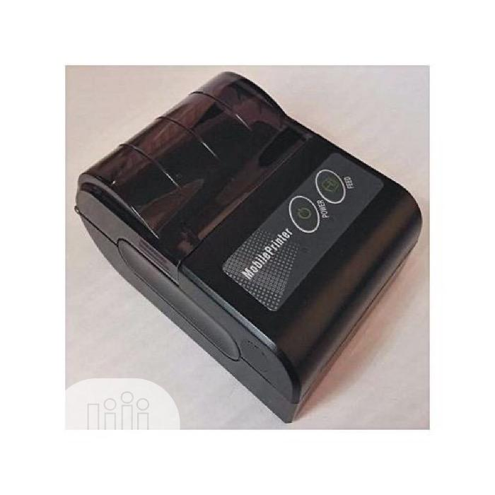 Bluetooth Thermal Printer POS Mobile Printer 56mm   Printers & Scanners for sale in Ikeja, Lagos State, Nigeria