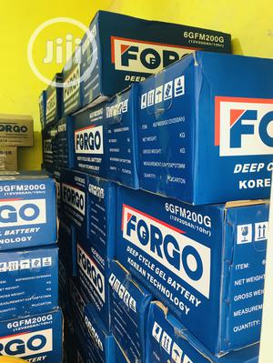 Forgo Solar Battery 12v 200ahs Available With Warranty | Solar Energy for sale in Abuja (FCT) State, Central Business District