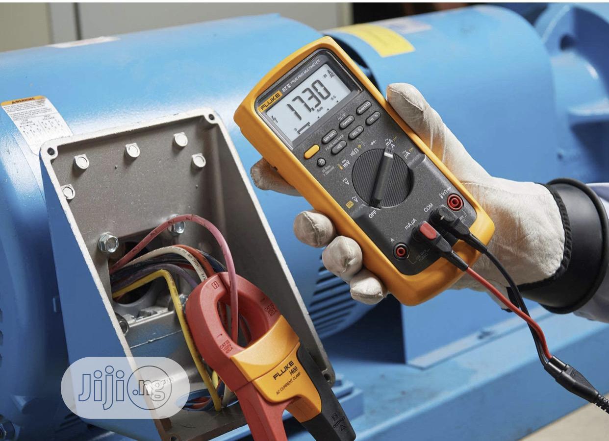 Fluke 87V Digital Multimeter With I400 Clamp Meter Combo Kit   Measuring & Layout Tools for sale in Ojo, Lagos State, Nigeria
