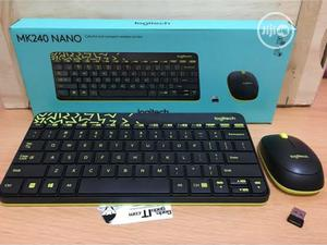 Logitech MK240 NANO Mouse and Keyboard Combo Black Color | Computer Accessories  for sale in Lagos State, Ikeja