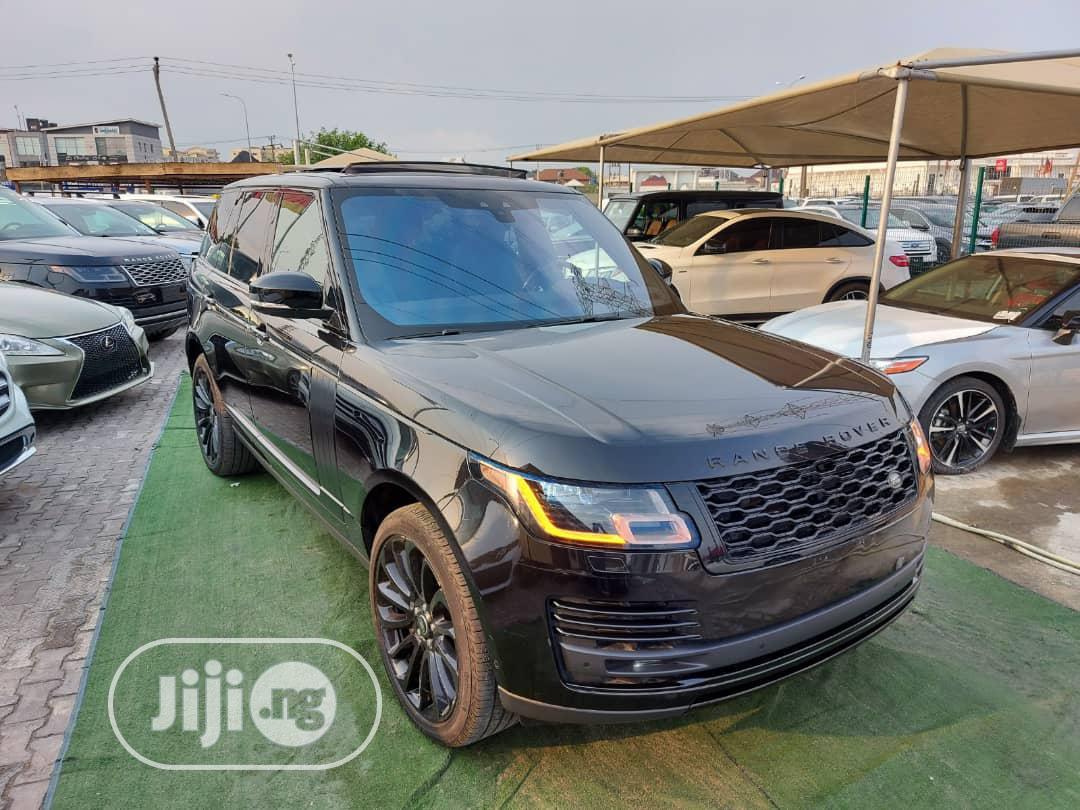Land Rover Range Rover Vogue 2018 Black