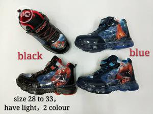 Kids' Cartoon Character Sneakers With Light - 28 - 33 | Children's Shoes for sale in Lagos State, Oshodi