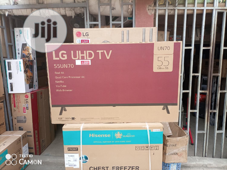 Lg Smart UHD Tv 55 Inches | TV & DVD Equipment for sale in Amuwo-Odofin, Lagos State, Nigeria
