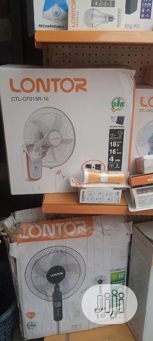 """16"""" Lontor Rechargeable Fan   Home Appliances for sale in Lagos State, Ilupeju"""