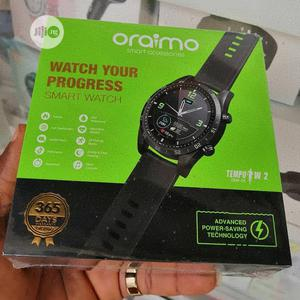 Oraimo Smart Watch Tempo W2 Osw-20 | Smart Watches & Trackers for sale in Lagos State, Ikeja