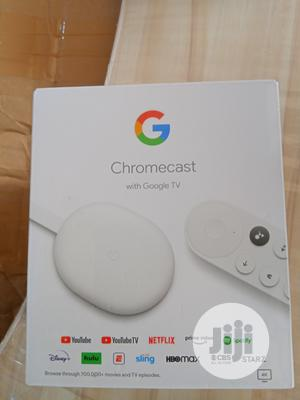 Google Chromecast With Google TV   Accessories & Supplies for Electronics for sale in Lagos State, Ikeja