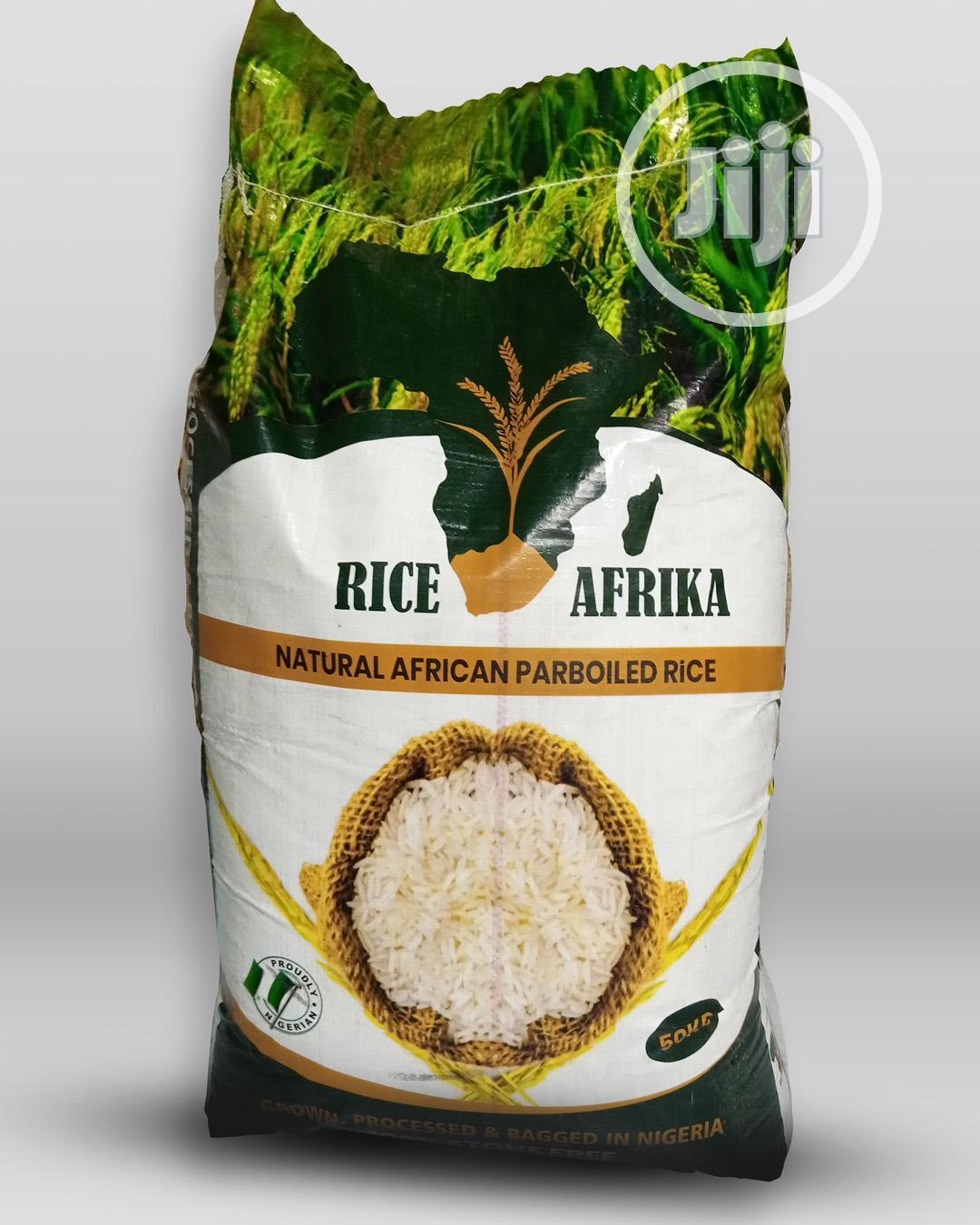 Archive: Riceafrika Premium Parboiled Rice 50kg