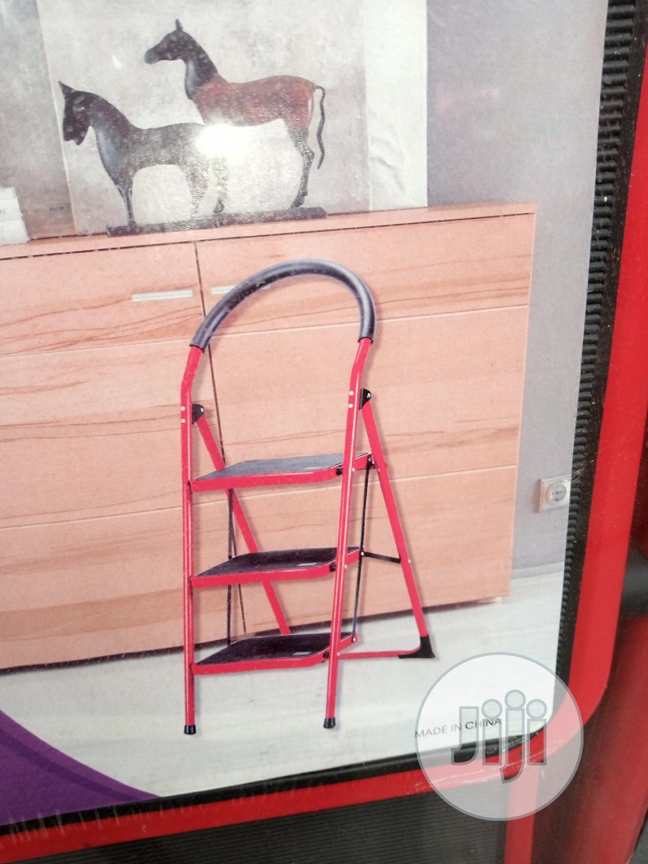 Fold Able Steel Ladder For Multipurpose Use