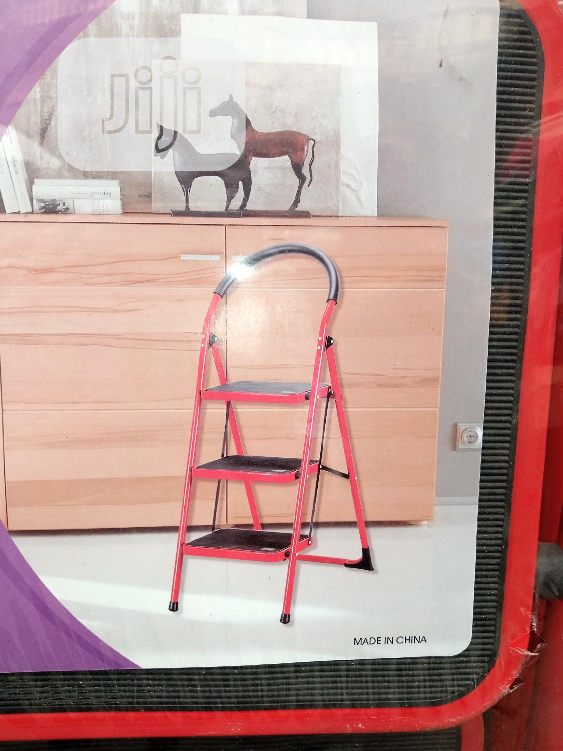 Fold Able Steel Ladder For Multipurpose Use | Hand Tools for sale in Gbagada, Lagos State, Nigeria