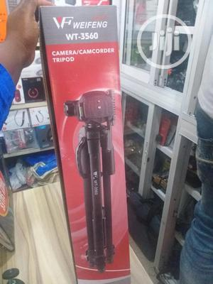 Weifeng Wt-3560 Tripod Stand | Accessories & Supplies for Electronics for sale in Lagos State, Ikeja