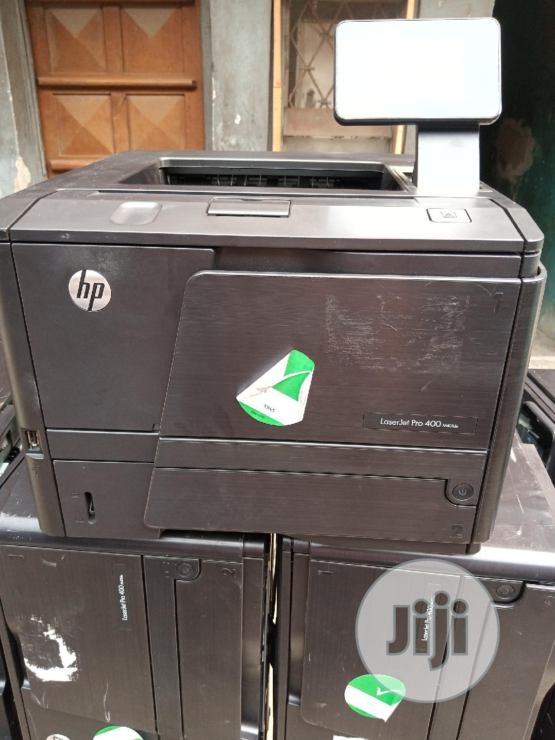 Hp Laserjet Pro 400 Printer Black and White | Printers & Scanners for sale in Surulere, Lagos State, Nigeria