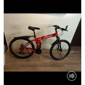 """Size 26"""" Folding Double Suspension Adults Bicycle 