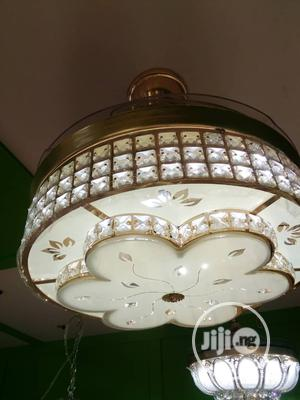 Classic Crystal Light With Fan | Home Appliances for sale in Lagos State, Ojo