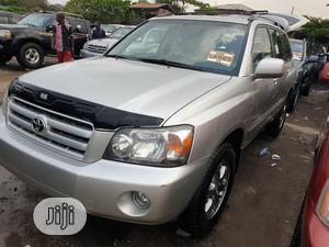 Toyota Highlander 2005 V6 4x4 Silver   Cars for sale in Lagos State, Apapa