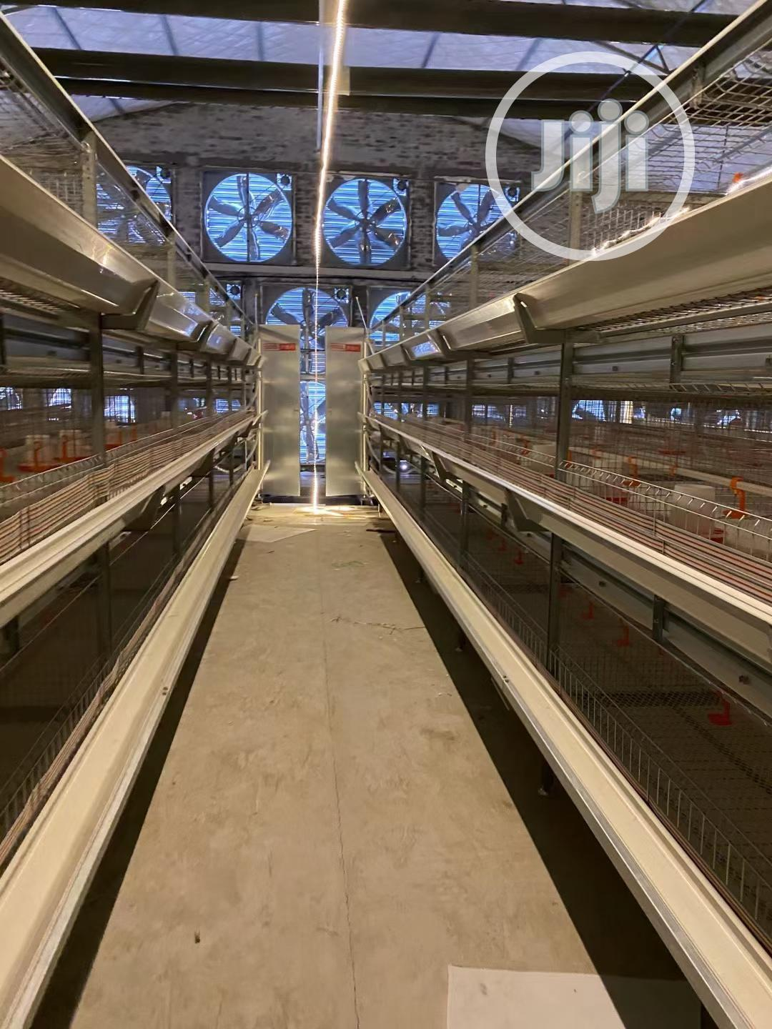 Automatic H Type Poultry Cage China Battery Cage | Farm Machinery & Equipment for sale in Bukkuyum, Zamfara State, Nigeria
