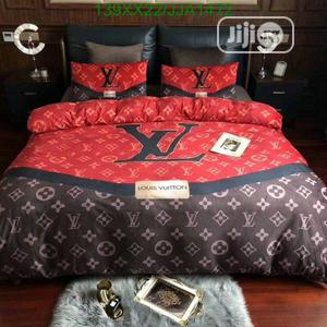 Louis Vuitton Duvet, 1bedspread and 4pillowcase | Home Accessories for sale in Lagos State, Ikeja