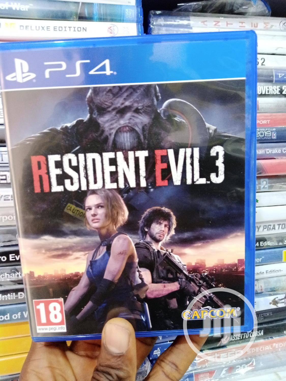 Resident Evil 3 Cd for Ps4
