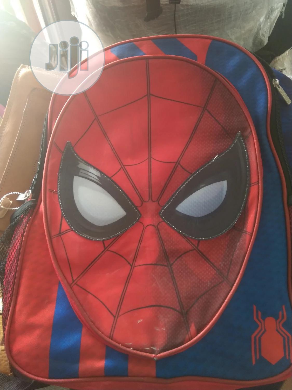 Spider-Man School Bag