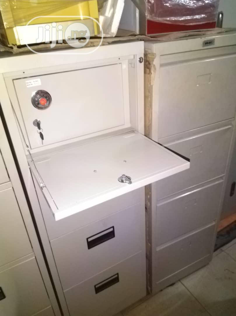 Cabinet With Safe
